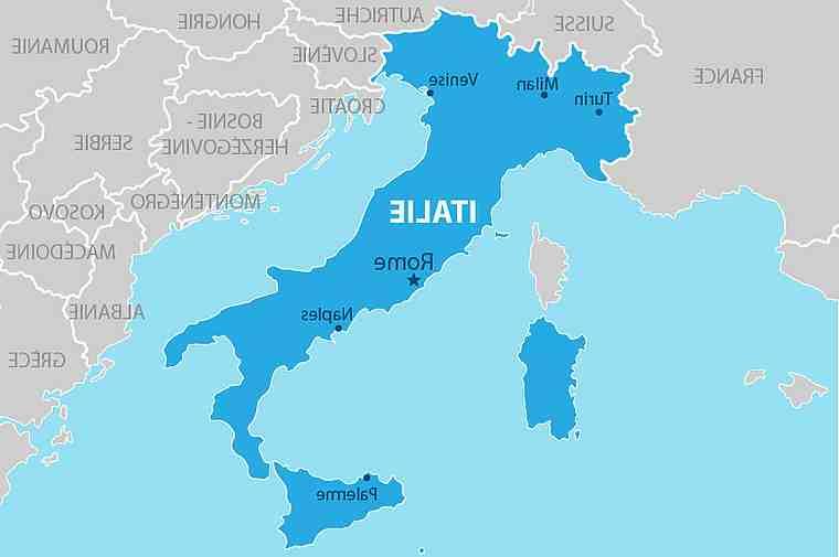Che forma ha l'Italia?