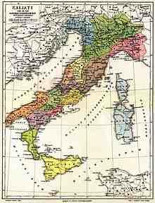 Qual è il nome del nord Italia?