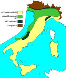 Quali sono i mari intorno all'Italia?